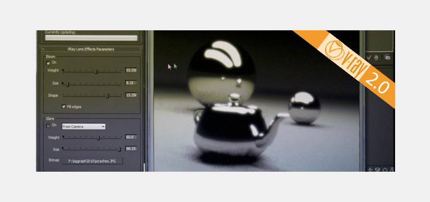 VRay 2.0 au SIGGRAPH 2010 !
