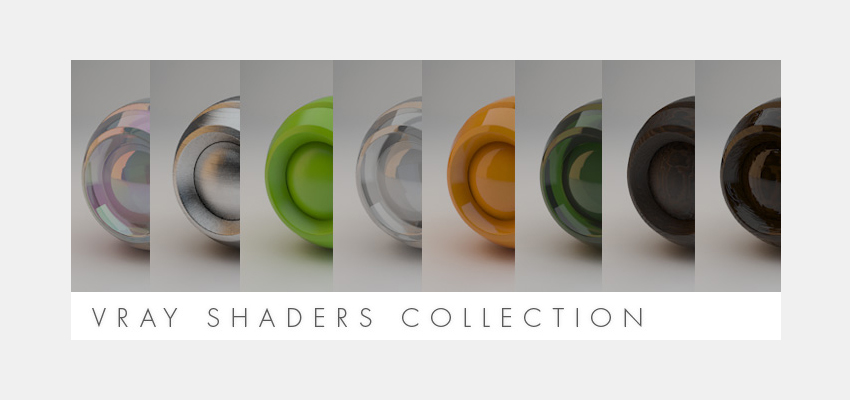 Vray Shaders Collection – Material Presets for Vray