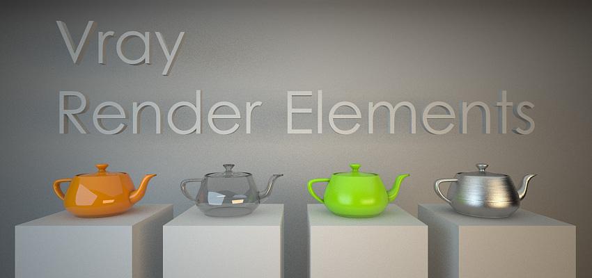 Vray Render Elements – Partie 1