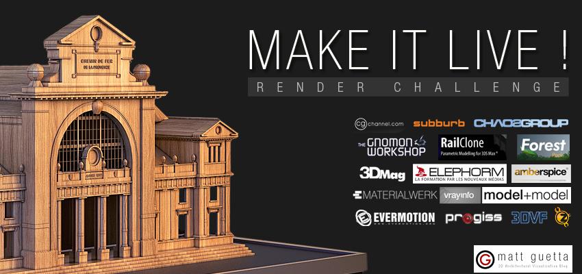 Make it live! Render Challenge