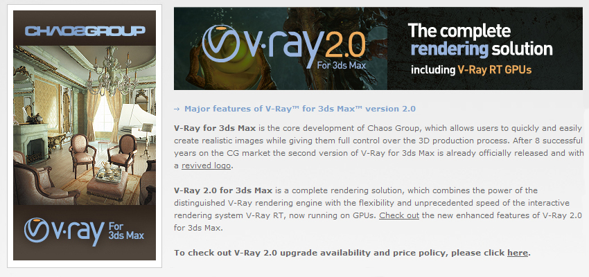V-ray 2.0 is out!
