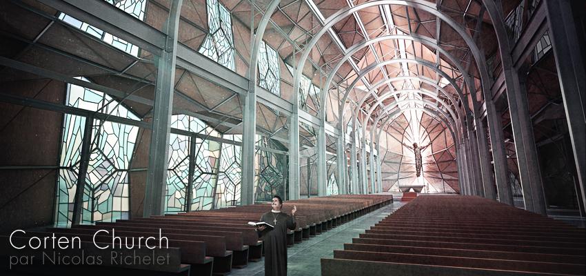 """Corten Church"" par Newke"