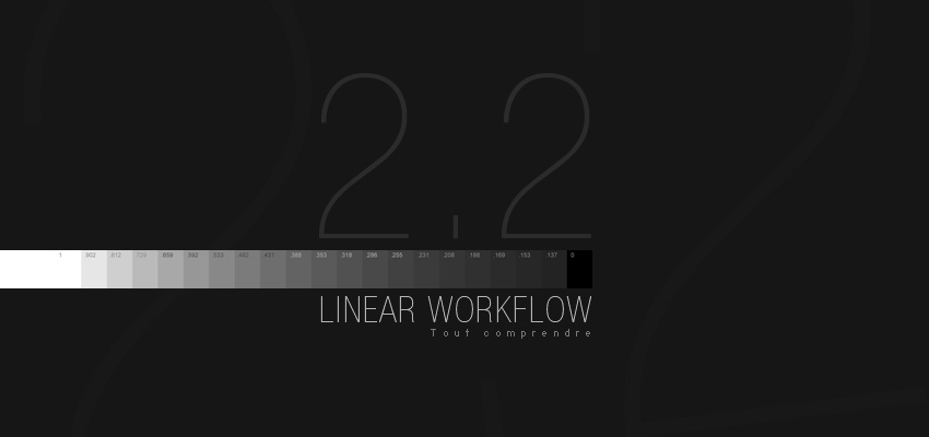 Comprendre le Linear Workflow