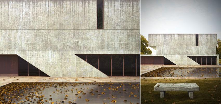 Lakeside House par Zahir Ould-Hocine