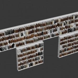 3d Books - Manica Lunga Library