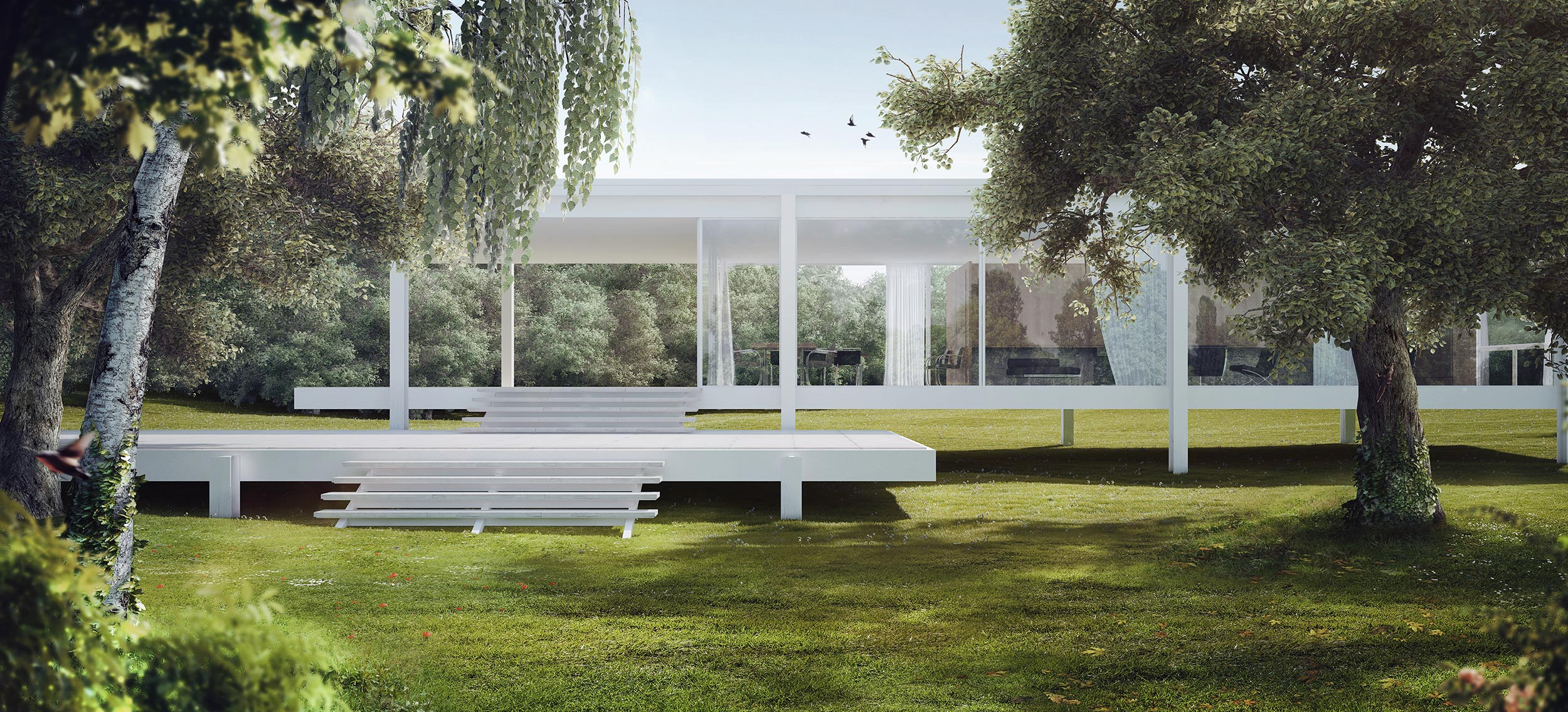 Farnsworth House Par Romuald Chaigneau Making Of
