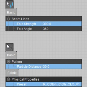 Settings Marvelous Designer
