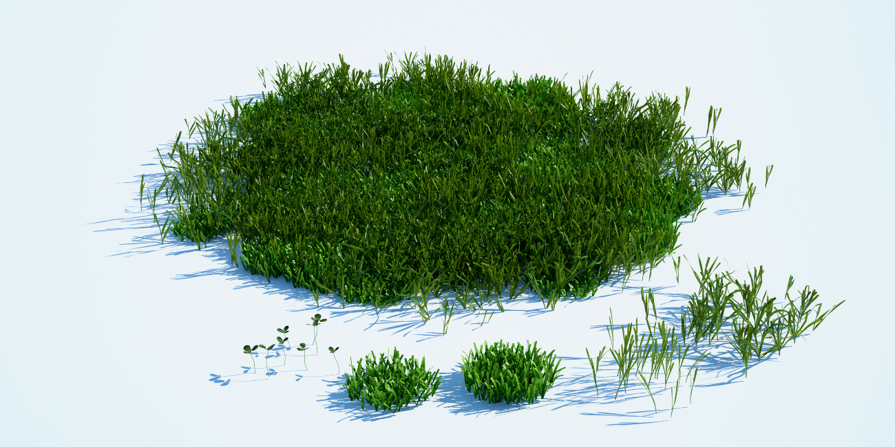 For more realistic and natural looking environment I used 5 different ...