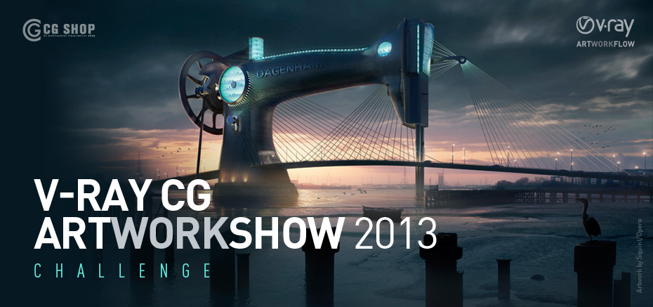 Les Gagnants – VRay CG ArtWorkShow 2013