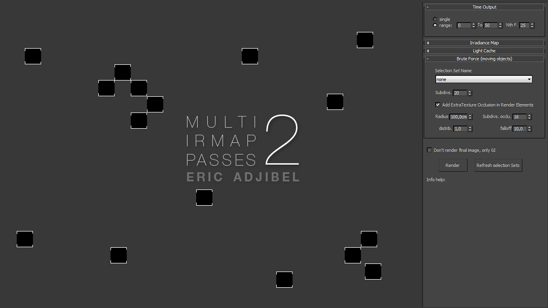 Multi-iR Map Passes Script par Eric Adjibel